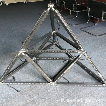 Triangle DMX 3D Géométrie Magic LED Bar