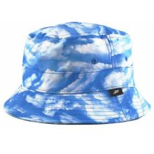 Alta qualidade planície balde chapéu atacado gravata tingida balde chapéu