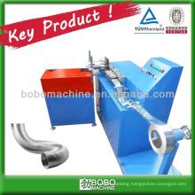 Pure aluminum flexible duct machine