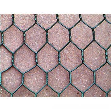 ПВХ покрытием/нержавеющей стальной проволоки Гексагональной сетки