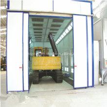 Four de cabine de peinture conçu sur mesure pour le bus