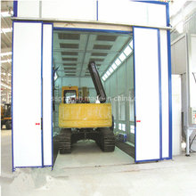 Forno de cabine de pintura personalizado para ônibus