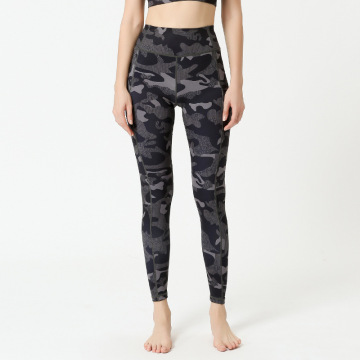 Stash Pocket Camo Leggings