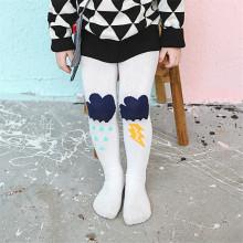 Fantasía diseños poco chica baile medias pantimedias cabrito colorido algodón leotardos
