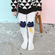 Необычные дизайны Маленькая девочка танцуют хлопковые колготки Колготки Красочные колготки из хлопка для малышей