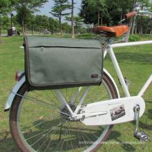 Alibaba China Guang Zhou Wholesale external frame canvas single bike pannier bags
