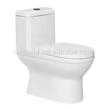 CB-9869 Siphonic One Piece Toilette Americia Toilette standard Toilette WC Toilette sous vide