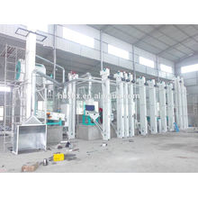 Hot sale 2 ton per hour best factory price rice mill plant