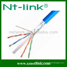 Cabo exterior do LAN do ftp cat6 de 23awg 4pairs
