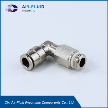 Air-Fluid Push in Long Male Swivel Elbow Fittings