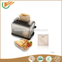 Поставщик фарфора 2015 года -70 ~ 260 стоградусных фторопластовых футляров для тостеров для многоразового использования, пригодных для духовки