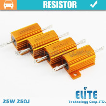 Resistor 25W 50W 100W 25RJ Canbus dos bulbos do diodo emissor de luz para bulbos do diodo emissor de luz do carro