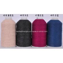 50silk/50wool, 60nm/2 Blend Cashmere Yarn for Knitting
