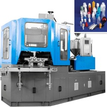 PE/PP/HDPE/LDPE Kunststoff-Flaschen Schlag Spritzgießmaschine