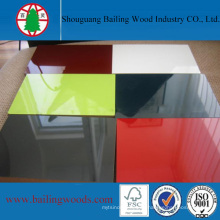 1220 * 2440mm color puro UV 16 mm MDF con alta calidad