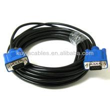 25FT 25 FT 15 PIN SVGA SUPER BLUE M Mâle 2 Câble mâle VGA pour PC TV