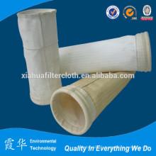 Sac de filtre à poussière en polyester pour la collecte des poussières