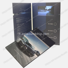 Schede lettore video, brochure video, brochure video LCD