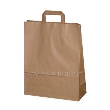 Sac à provisions Kraft Paper Gift pour emballage (HBPB-67)
