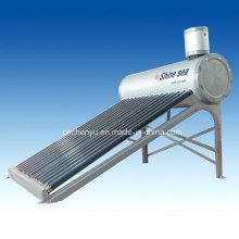 2014 Самый продаваемый алюминиевый цинковый стальной компактный эвакуированный трубчатый солнечный водонагреватель