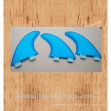Новый сезон синий цвет шестигранной представленный дизайн красоты ласты базы ФТС /ФТС II на доски для серфинга
