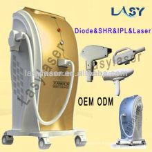 Barato 808 diodo máquina de depilação a laser