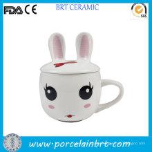 Nettes Kaninchen-Entwurf scherzt Geschenk-keramischer Baby-Schale