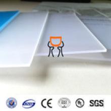 Matériel PC Feu de lumière LED Feuille de polycarbonate 0,5 mm haute qualité