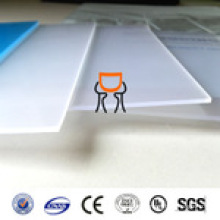 PC Material LED light diffusion Polycarbonate sheet 0.5mm high quality