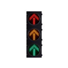 Luz de sinal 300mm do tráfego do diodo emissor de luz do alojamento do PC