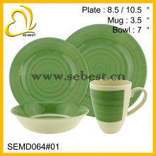 factory wholesale 4PC new style melamine dinnerware sets
