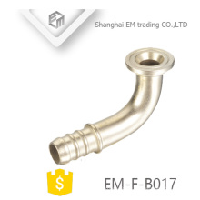 EM-F-B017 Chromed Brass elbow adapter pex pipe fitting