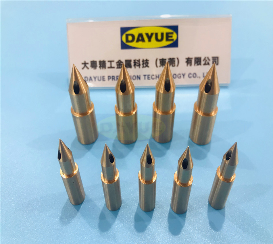 CNC machining Hot runner nozzle tips mold Components china moulding parts Manufacturers suppliers