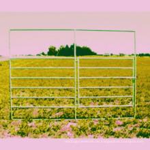 6 Rails Horse Panel Rinderplatten HDG Oberfläche