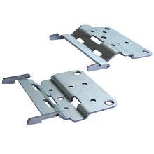 Soldadura de ferro dobradura Mobiliário Liga de alumínio estampagem Brackets Peças