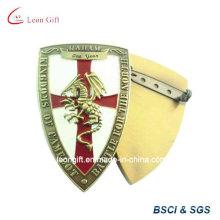 Bouclier conception costume épinglette personnalisée Badge
