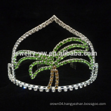 Summer Coconut Tree Pageant Series Tiara Factory Crown