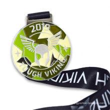 Factory supply medals custom medal 3d zinc alloy sport medal