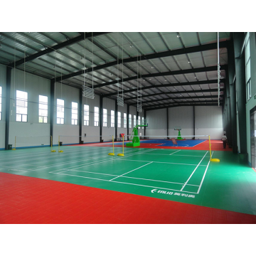 แบดมินตัน PVC Sport Flooring BWF Certification