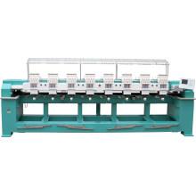 A alta velocidade 8 cabeça 9/12 colore a máquina automatizada do bordado