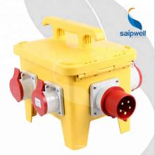Saipwell IP65 Boîtier d'alimentation de prise industrielle de haute qualité étanche