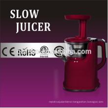 Powerful DC Motor Tritan Auger Plastic Housing Slow Juicer