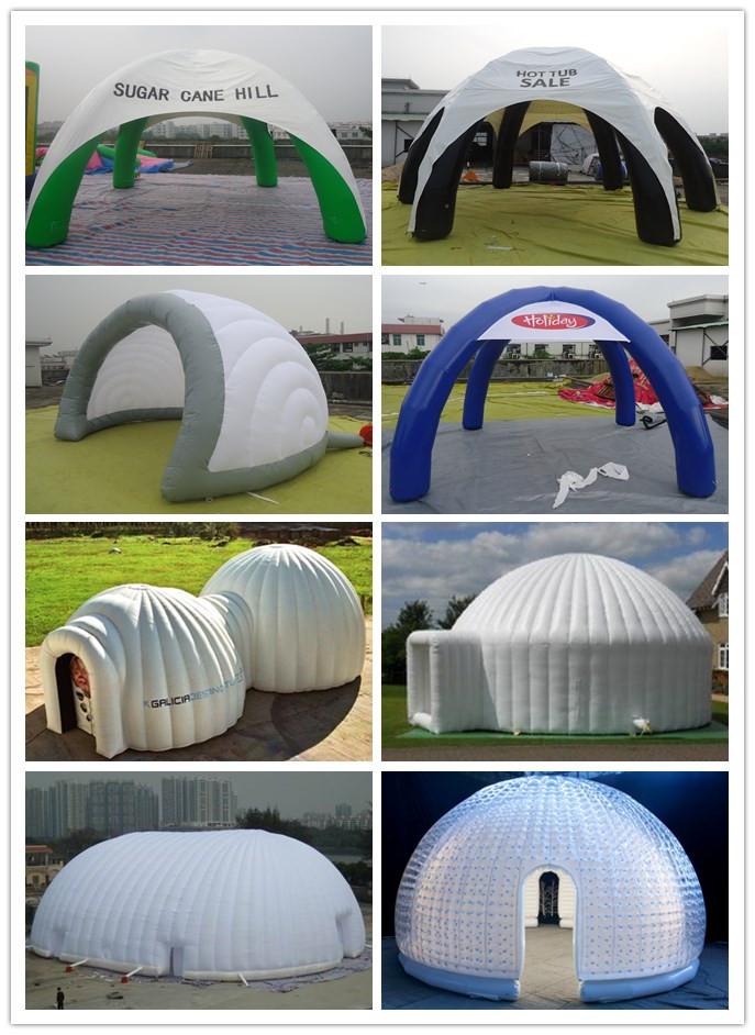 Uppblåsbara Pods mobila LED möte utställning rum tält
