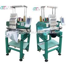 Nouveau type Multi-purpose Single Head 12 Needles Cap / T-shirt Broderie Machine