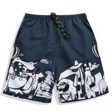 Мужские пляжные шорты на завязках, модные