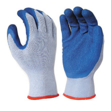 High Grade Polyester 10 Gauge 5 Yarn Latex Dip Marine Fisherman Gloves