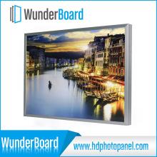 Quadro quente da foto do metal do projeto de encaixe da venda para os painéis de alumínio da foto de Wunderboard HD