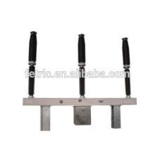 High voltage outdoor three pole 220kv sf6 circuit breaker