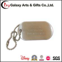 Унисекс солдат ID тегов / изготовленный на заказ Нагрудная планка с фамилией участника ожерелье