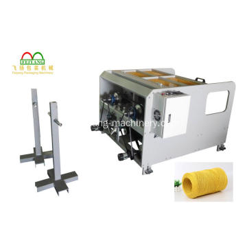 Twins Head Paper Rope Making Machinery